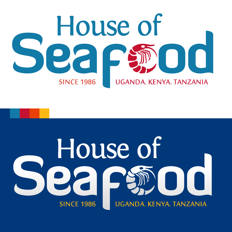 House of Seafood Uganda Logo and Branding Design by Quantum Dynamics Ltd